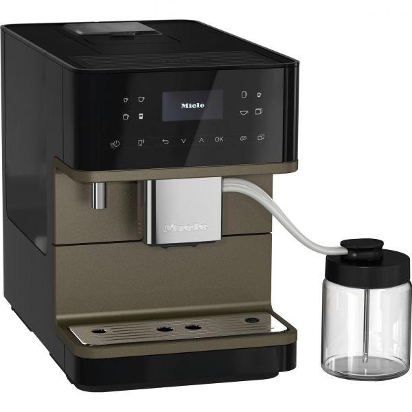 CM 6360 MilkPerfection Tam Otomatik Solo Kahve Makinesi - Siyah CleanSteelMetallic