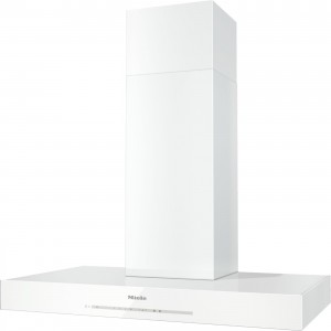 Miele - DA 6690 D BRWS Beyaz Puristic Edition Ada Tipi Davlumbaz