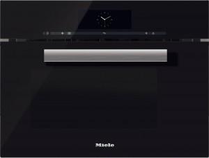 Miele - DGM 6800 OBSW Ankastre Kombi Mikrodalgalı Buharlı Fırın