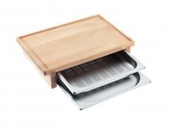 Miele - DGSB 1 Kesme Tahtası & 2 Buharlı Pişirme Kabı