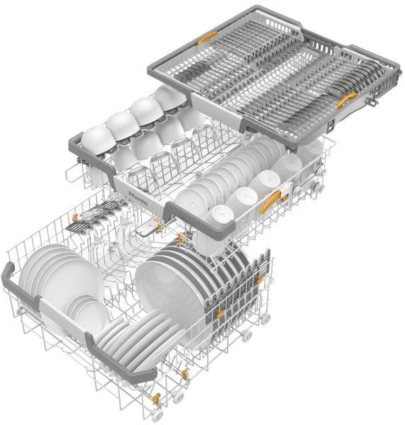 G 5000 SC Active Çelik A++ 14 kişilik Solo Bulaşık Makinesi