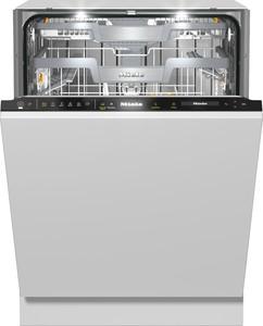 Miele - G 7595 SCVi XXL A+++ Otomatik Dozajlamalı Tam Ankastre Siyah Bulaşık Makinesi