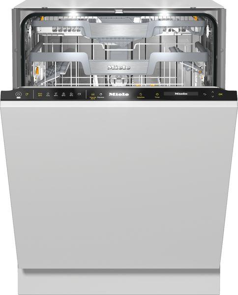 G 7595 SCVi XXL A+++ Otomatik Dozajlamalı Tam Ankastre Siyah Bulaşık Makinesi