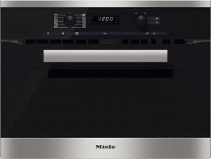 MIELE - H 6200 BM CLST Çelik Mikrodalgalı Fırın