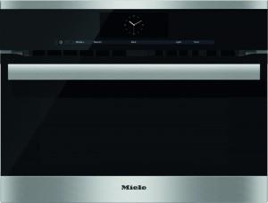 MIELE - H 6800 BM CLST Çelik Mikrodalgalı Fırın