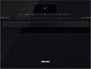 Miele - H 6800 BM OBSW Siyah Mikrodalgalı Fırın