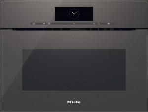 MIELE - H 6800 BMX Gri Artline Ankastre Mikrodalga Fırın