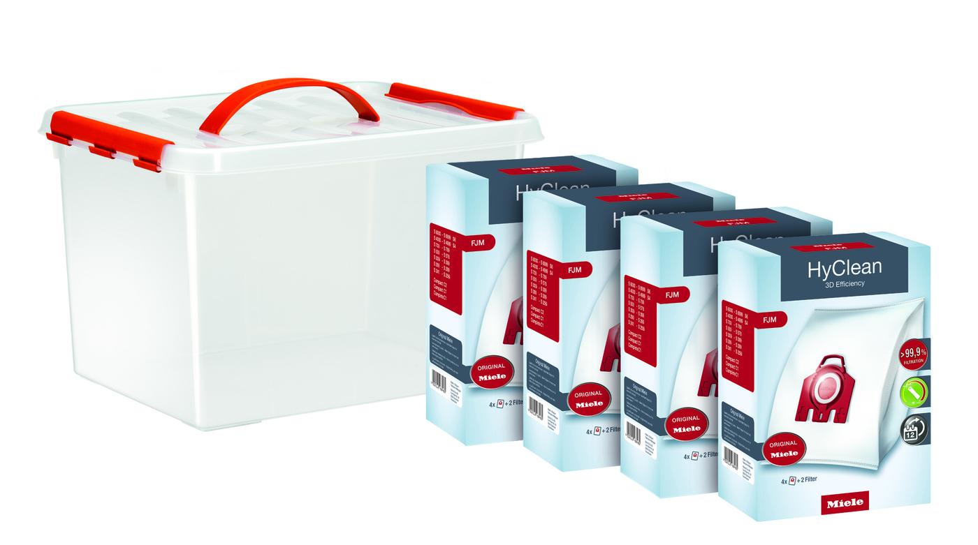 HyClean 3D FJM 16'lı Toz Torbası Konfor Paketi