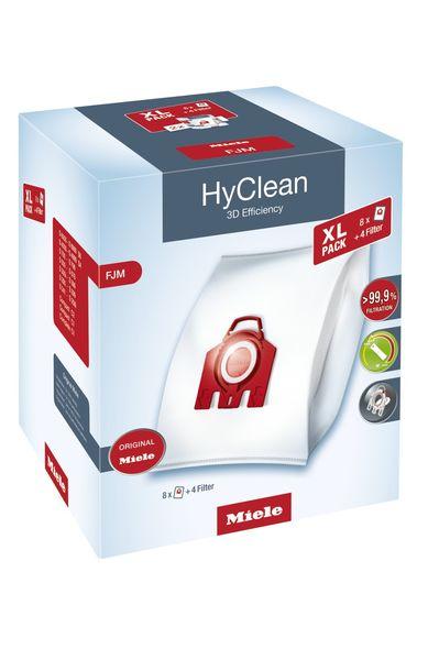 HyClean 3D Toz Torbası FJM (Sekizli Paket)