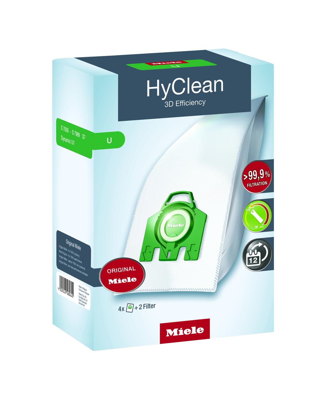 HyClean 3D U Toz Torbası