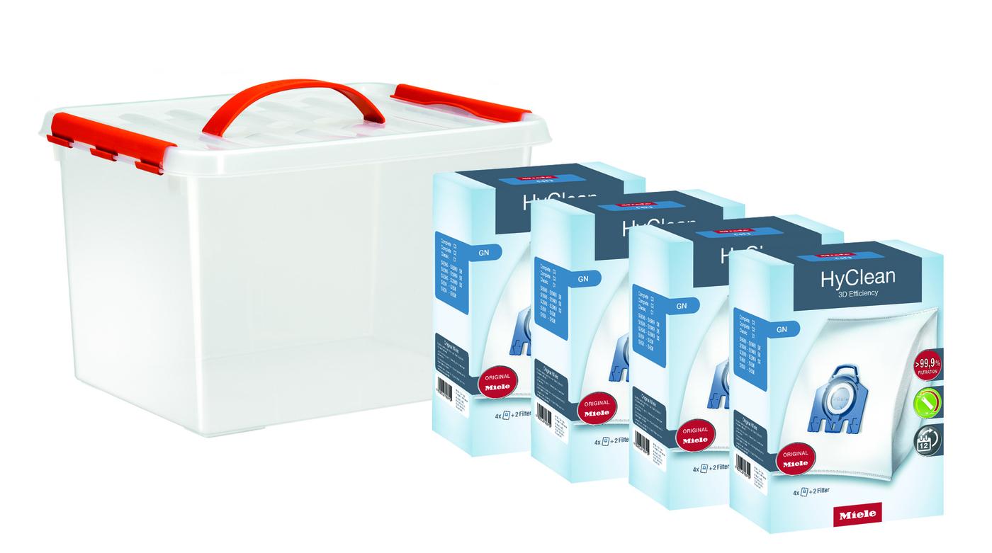 HyClean 3D GN 16'lı Toz Torbası Konfor Paketi