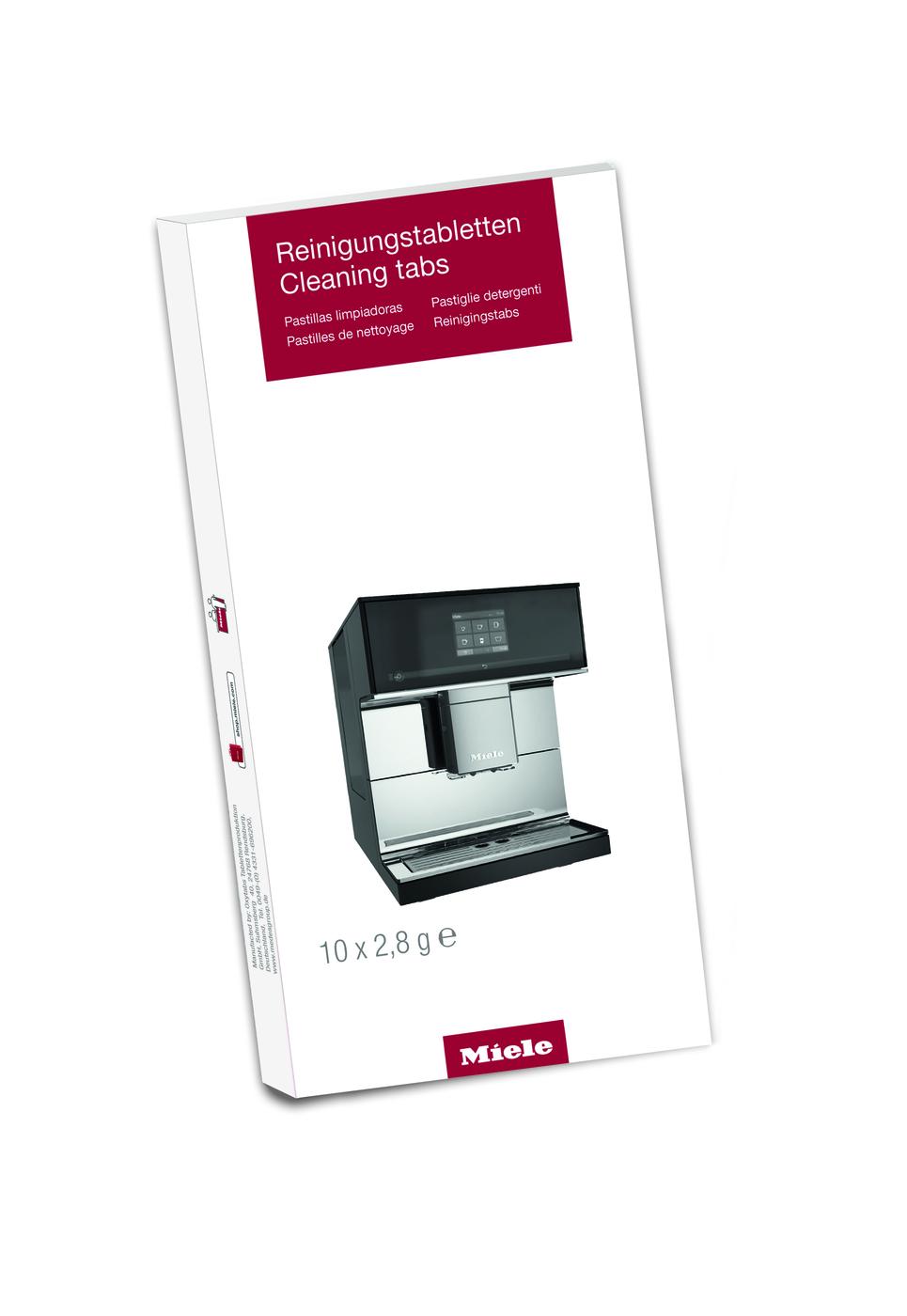Kahve Makinesi Öğütme Ünitesi Temizleyici Tablet (10 adet)