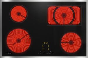 Miele - KM 6542 FR 76 cm Elektrikli Ocak