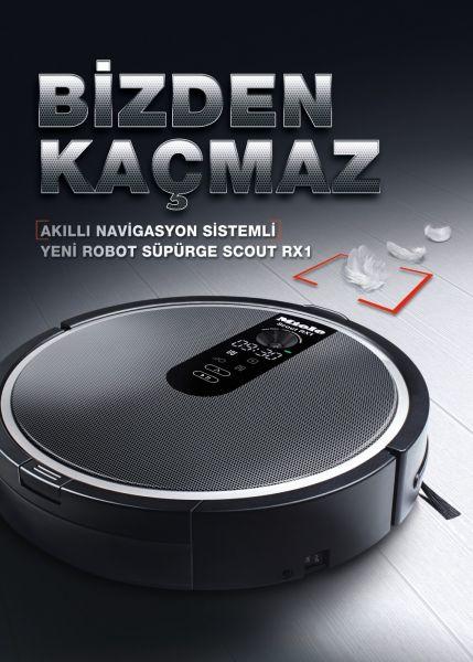 Scout RX-1 Temizlik Robotu