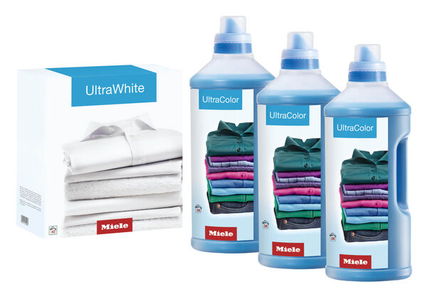 3 x UltraColor Renkli Sıvı Deterjan, 1 x UltraWhite Toz Deterjan Seti