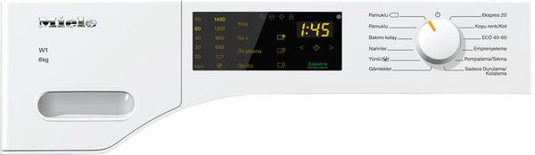 WWD120 WCS 8 Kg 1400 Devir A+++ (-%10) Enerji Tasarruflu Çamaşır Makinesi